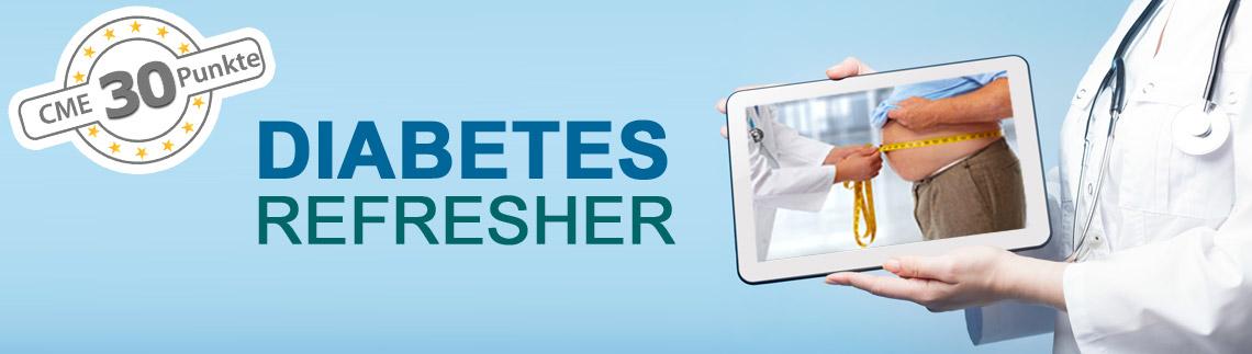 Diabetes Refresherkurs mit 33 CME-Punkten