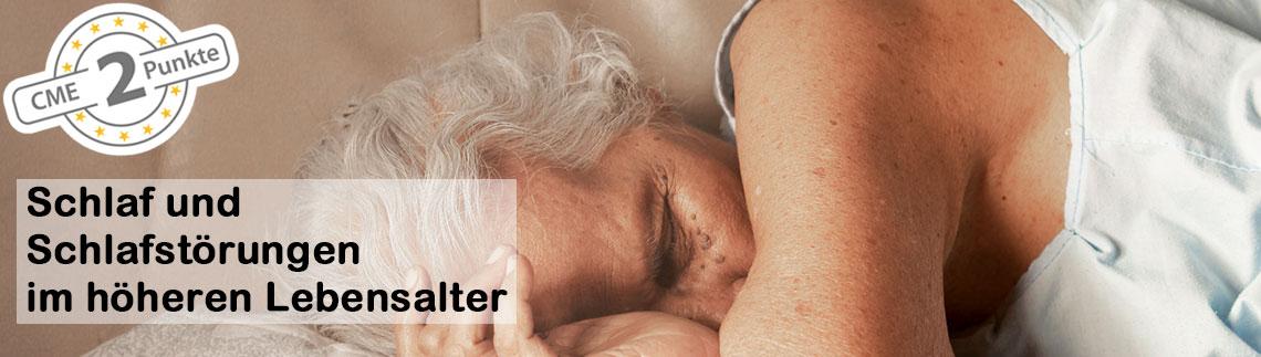 Schlaf und Schlafstörungen im höheren Lebensalter