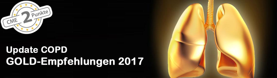 Update COPD: GOLD-Empfehlungen 2017 � Neue Leitlinien zu Diagnostik, Therapie, Prävention