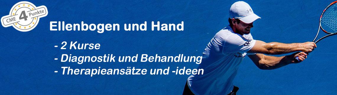 Beschwerden und Verletzungen von Ellenbogen und Hand – Update Diagnostik und Behandlung