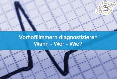 Vorhofflimmern diagnostizieren