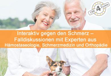 Interaktiv gegen den Schmerz – Falldiskussionen mit Experten aus Hämostaseologie, Schmerzmedizin und Orthopädie