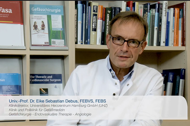 Interview Prof. Dr. Eike Debus