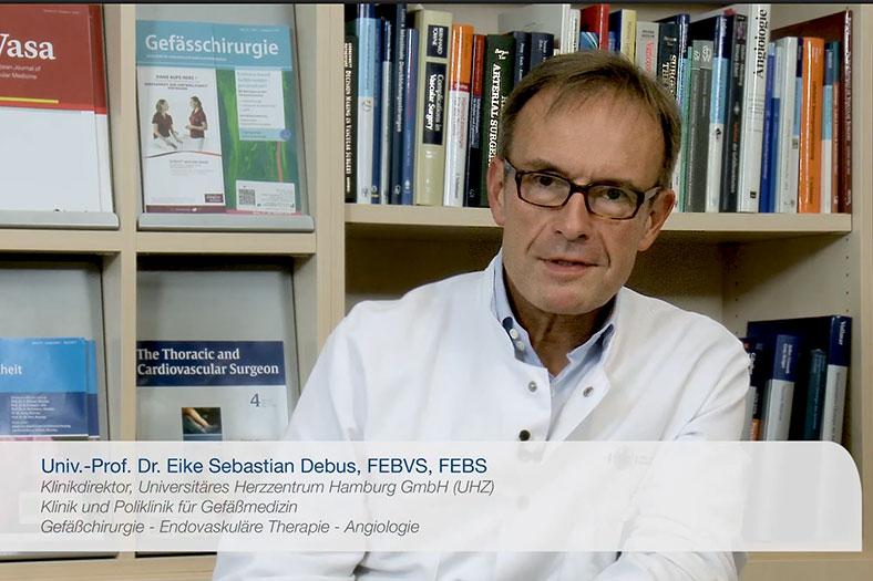 Interview Prof. Dr. Eike Debus